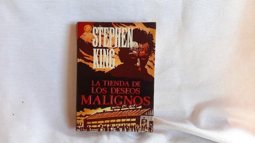 La Tienda De Los Deseos Malignos Stephen King Grijalbo