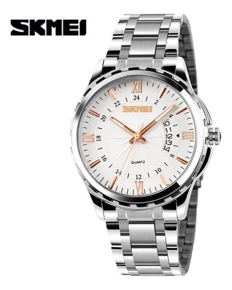 Relógio Masculino Skimei 9069 Esportivo A Prova D