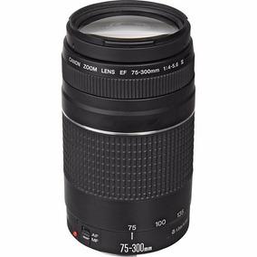 Lente Canon 75-300mm F/4-5.6 Iii3 Ef Autofoco Envio Imediato