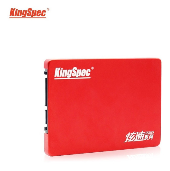 Ssd Kingspec 480gb 530 Mb/s Red Pc Gamer Hd Notebook Lacrado
