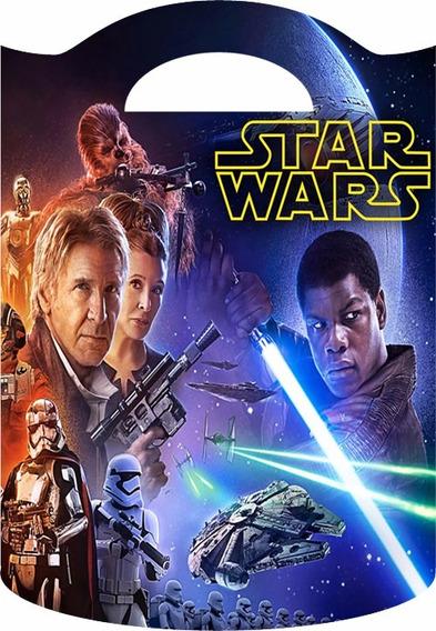 Bolsitas Golosineras Tipo Valijita Star Wars Pack X 10 U