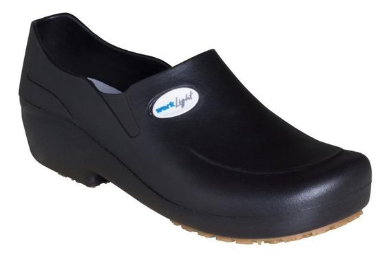 Sapato Antiderrapante Cozinha Enfermagem Soft Limpeza 50wlsp