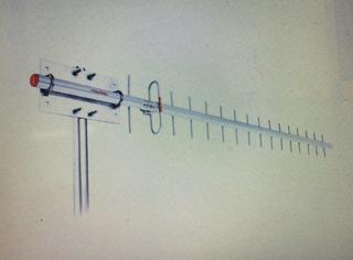 Antena Celular Rural Aquario 17dbi 22952