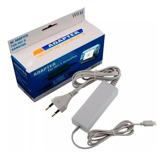 Carregador Fonte Para Gamepad Nintendo Wii U Bivolt 110/220v