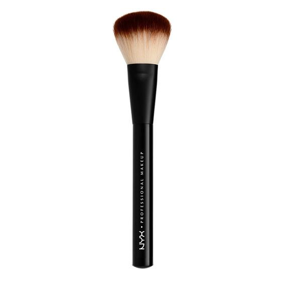 Brochas Maquillaje En Polvo Profesional Rostro Brush Nyx