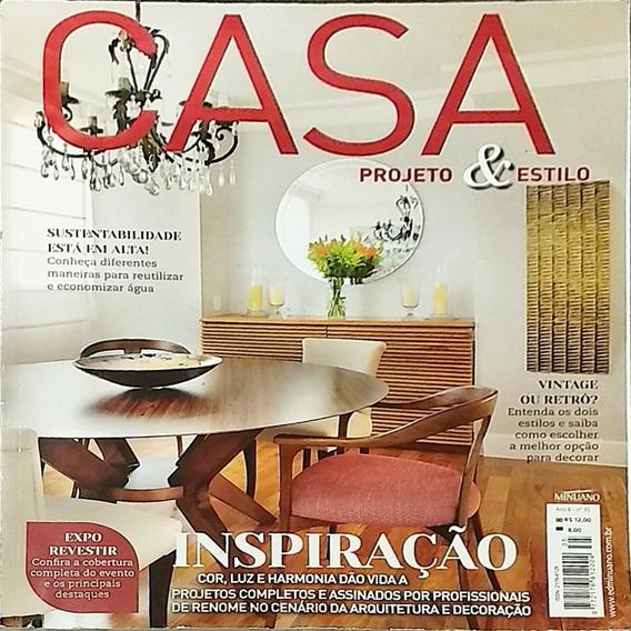 Revista - Casa Projeto E Estilo