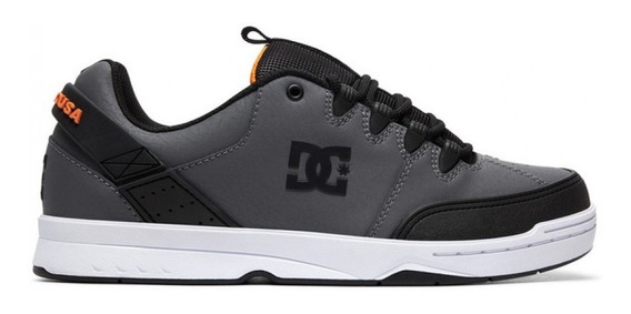 Zapatilla Dc Syntax Gris En Oferta Black Friday