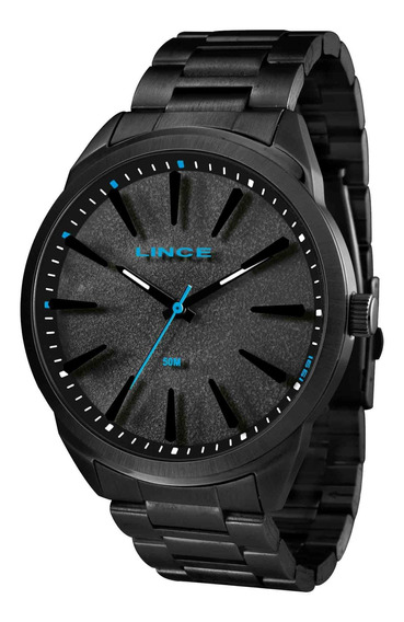 Relógio Lince Mrn4385s Papx Masculino Preto - Refinado