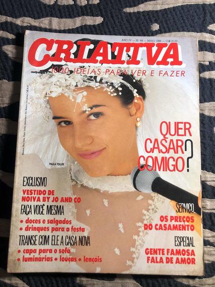 Criativa 86 Paula Toller Paulo Ricardo Rpm Raul Gazola Lulu