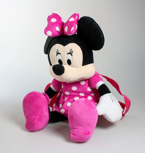 Peluche De Colgar Minnie Vestido Rosa