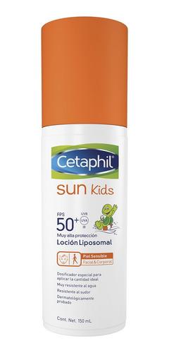 Cetaphil Sun Kids Fps 50+ Locion Frasco X 150 Ml