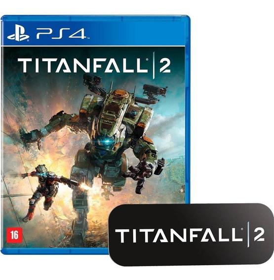 Titanfall 2 Ps4 Midia Fisica - Novo - Lacrado - Br + Brinde