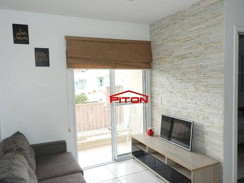 Apartamento Com 2 Dormitórios À Venda, 52 M² Por R$ 278.000,00 - Cangaíba - São Paulo/sp - Ap2275