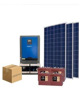 Kit Fotovoltaico 3.2 Con Baterías.