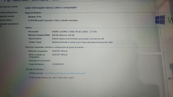 Notebook Acer A515-51-55qd