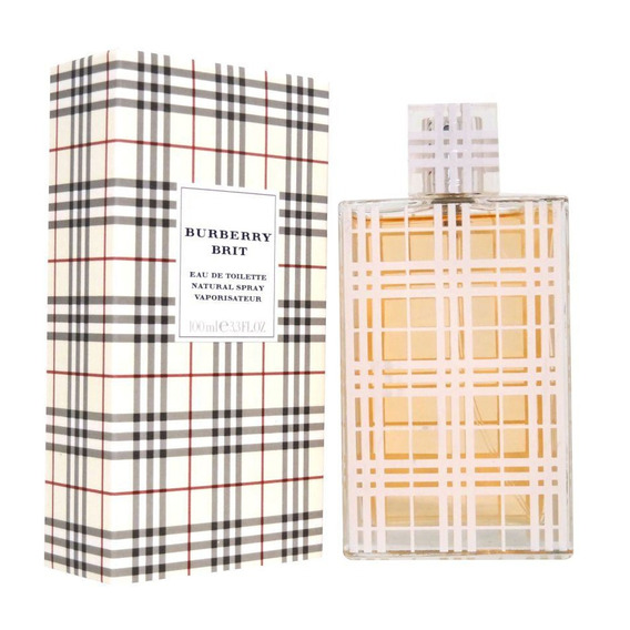 Burberry Brit 100 Ml Eau De Toilette Spray De Burberry