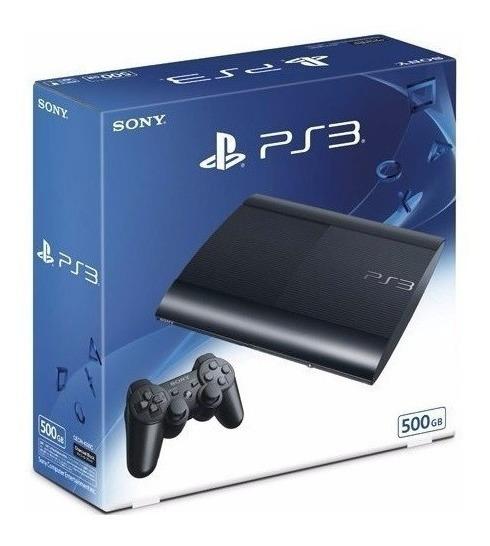 Caixa Vazia Playstation 3 Super Slim Ps3