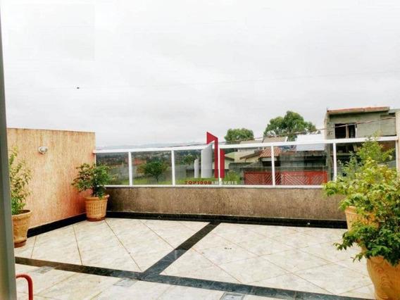 Casa Com 3 Dormitórios À Venda, 126 M² Por R$ 424.000 - Residencial Santo Antônio - Franco Da Rocha/sp - Ca0002