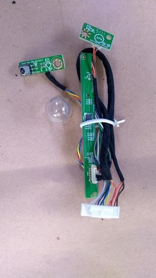 Placa Funções Manual Com Sensor Tv Aoc Le22h138