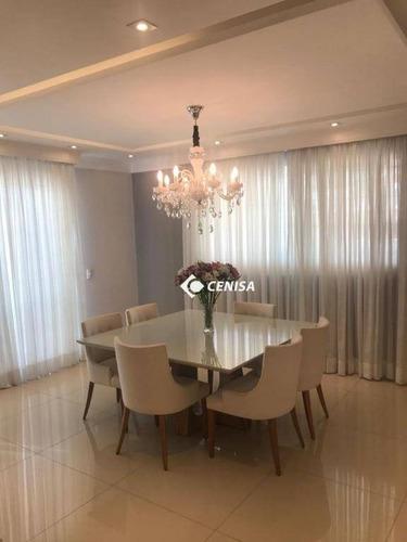 Imagem 1 de 14 de Apartamento Com 4 Dormitórios À Venda, 188 M² Por R$ 1.300.000,00 - Vila Sfeir - Indaiatuba/sp - Ap1108