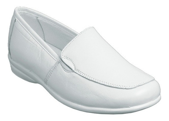 Zapato Clínico, Enfermería, Spa, Hostelería, Sanidad, Medico, Marca Dibeto 1750 Blanco