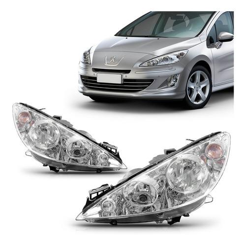 Par Farol Peugeot 408 2011 2012 2013 2014 2015 Foco Duplo