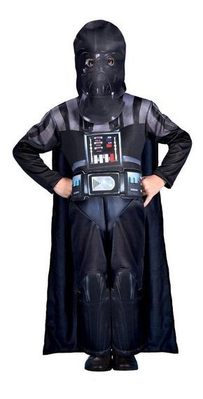Disfraz Star Wars Darth Vader Talle 0 De 2 A 4 Años New Toys