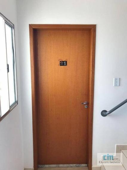 Apartamento Com 1 Dormitório Para Alugar, 45 M² Por R$ 650/mês - Residencial Água Branca - Boituva/sp - Ap0109