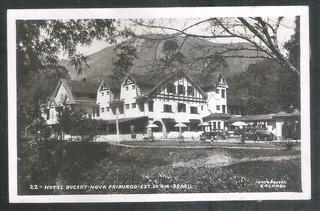 Foto Postal Colombo 22 - Hotel Bucsky - Nova Friburgo