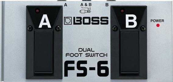 Boss Fs-6 Pedal Interruptor Dual Tipo Cerradura Y Momentaneo