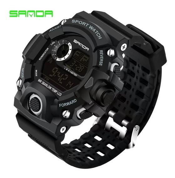 Relógio Digital Luxo Esportivo Militar Prova Dágua Promoção