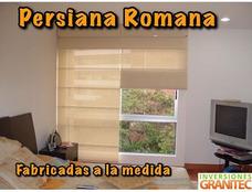Persianas A La Medida. Enrollables, Romanas, Paneles, Duo.