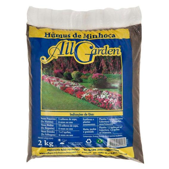 Adubo All Garden Humus De Minhoca 2kg