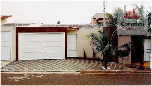 Imagem 1 de 19 de Casa Residencial À Venda, Jardim Souza Queiroz, Santa Bárbara D'oeste. - Ca0981
