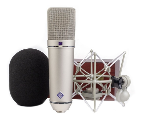Neumann U87 Ai Microfone Condensador Set Z Made In Germany