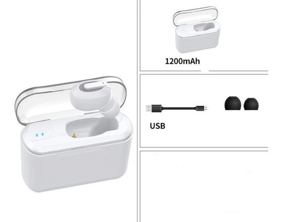 Sem Fio Bluetooth Fone De Ouvido Estéreo Invisível Fones D
