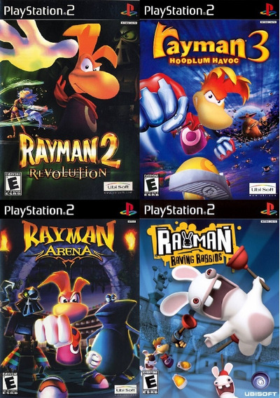 4 Patchs Ps2 - Rayman Collection