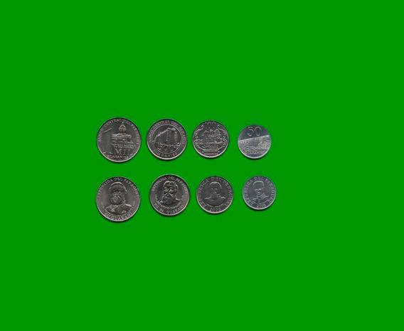 Serie De 4 Monedas Paraguay , 50, 100, 500 Y 1000 Guaranies