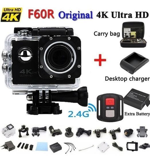 Câmera Tipo Go Pro 4k Hd Wifi Prova D