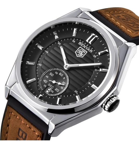Reloj Benyar Hombre Automático Acuático Original 5 Modelos