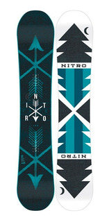 Tabla Nitro Fate Zero Snowboard Camber All Mountain Mujer
