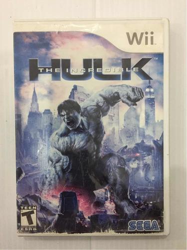Hulk The Incredible Nintendo Wii