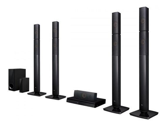 Home Theater Com Blu-ray Lg Full Hd Lhb655nw 5.1