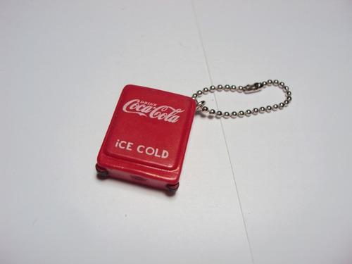 Chaveiro Promocional 120º Aniversário Coca Cola - Geladeira