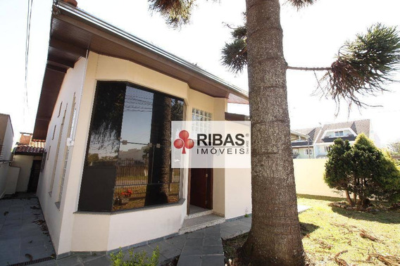 Casa Residencial Para Locação, Bacacheri, Curitiba. - Ca0001