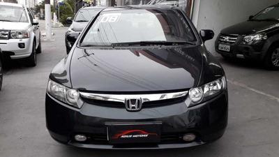Honda New Civic 2008 1.8 Lxs Flex Aut. 4p