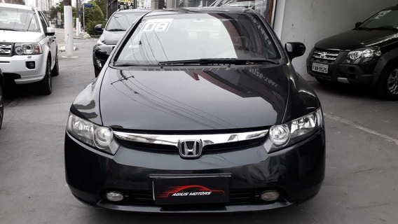 Honda New Civic 2008 1.8 Lxs Flex Aut. 4p