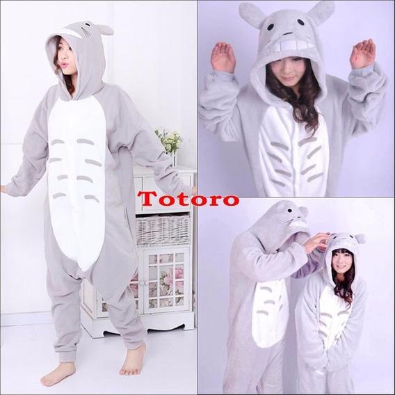 Totoro Pijama Unisex Disfraz Mameluco+ Envío Gratis Xtreme C