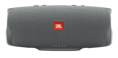 Caixa de som JBL Charge 4 portátil com bluetooth  grey