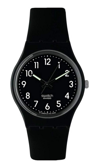 Relógio Swatch Black Suit Gb247r